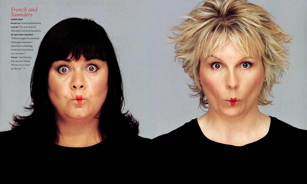 French & Saunders - Instyle