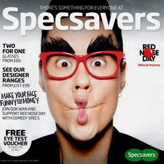 Gok - Comic Relief  - Specsavers