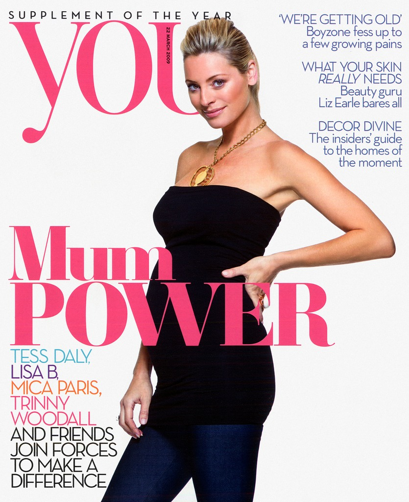 Tess Daly - You Magazie