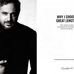 Angelo seminara - Great Lengths Advert