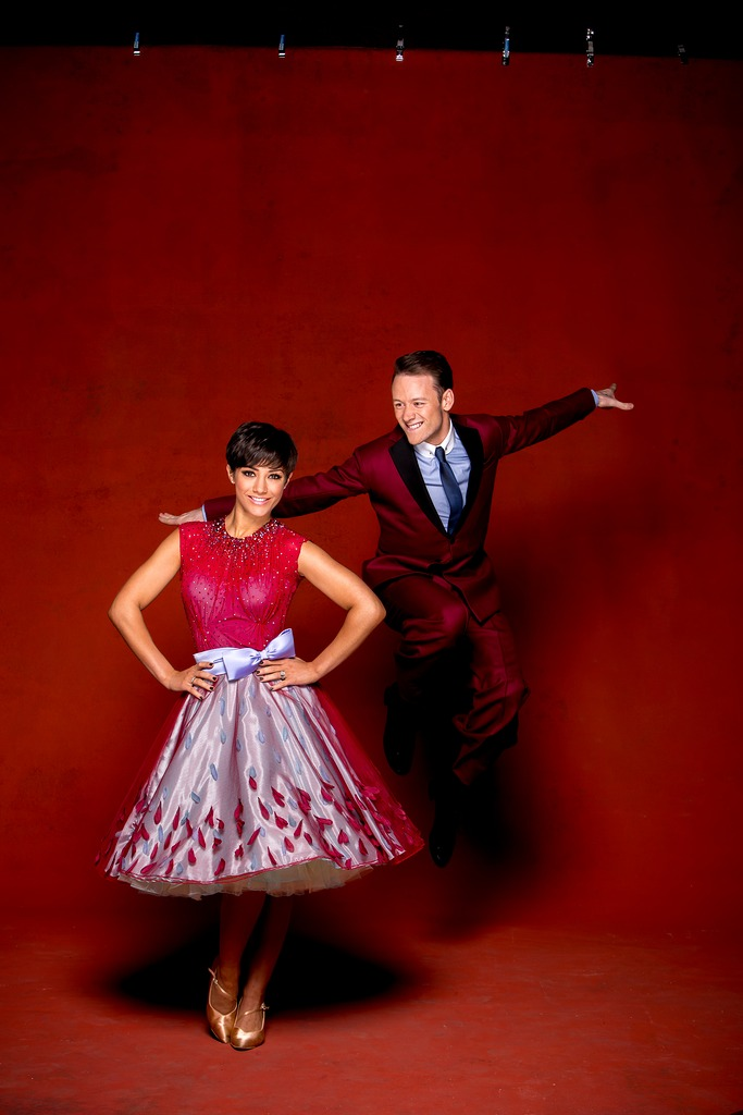 Frankie Bridge & Kevin Clifton