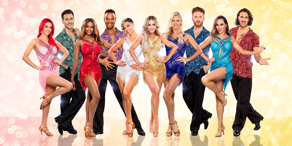 Strictly Professional Dancers - Tour Poster
