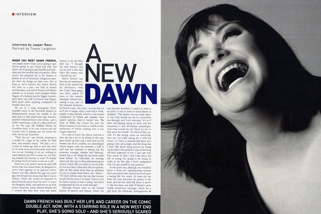 Dawn French - Sunday Times