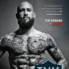 Tim Howard for PETA