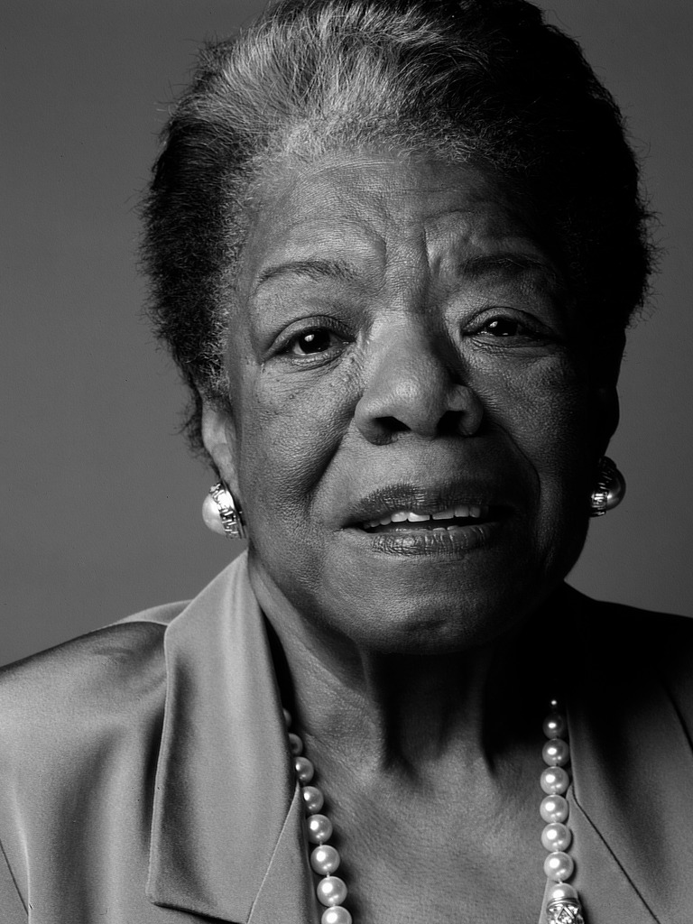 Maya Angelou - poet, singer, memoirist, and civil rights activist
